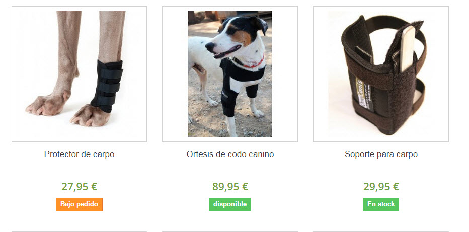 ortocanis protectores articulares