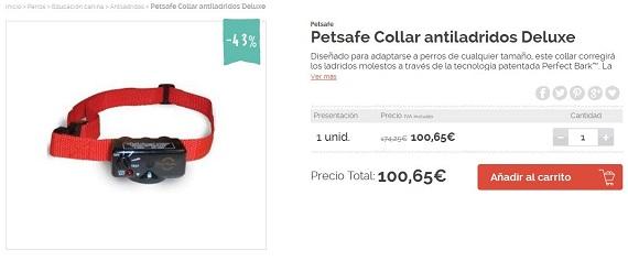 Collar antiladridos petsafe