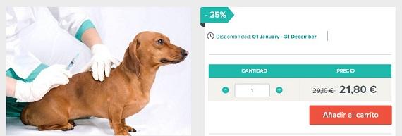 vacunas cachorros precios