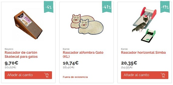 rascadores para gatos baratos online