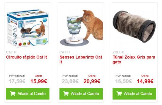 juguetes para gatos baratos