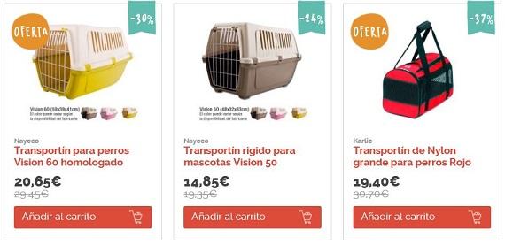 Transportines para perros precios