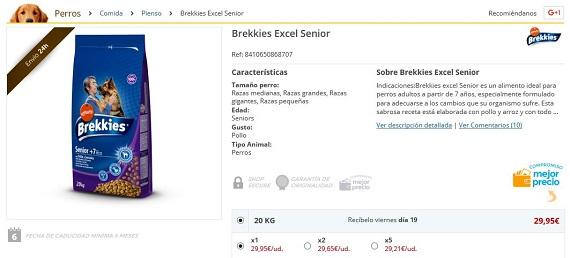brekkies excel senior