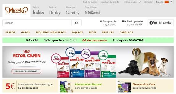 tiendas de mascotas online