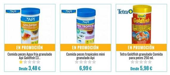 comida para peces ofertas