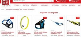 Arneses deportivos para perros online y baratos: con alforjas para running