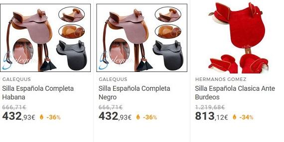 sillas de montar españolas