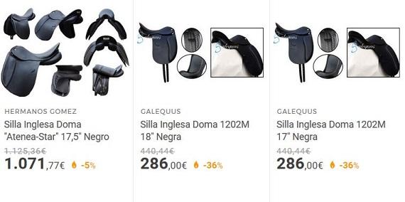 sillas de montar online