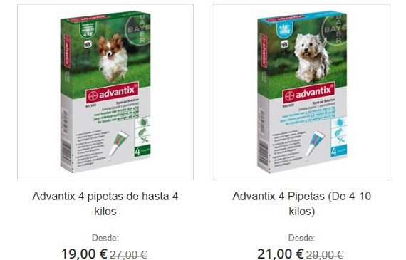 pipetas advantix comentarios