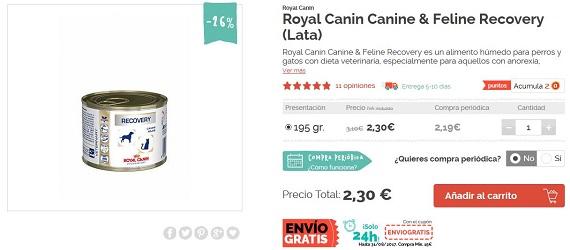 comida para gatos con sobrepeso royal canin
