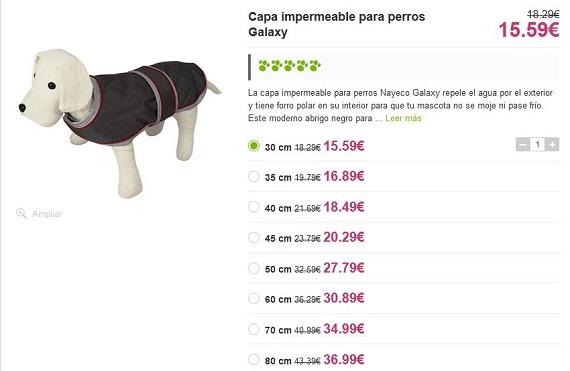abrigos para perros galgos