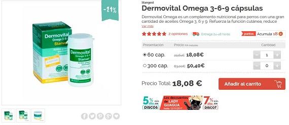 suplementos nutricionales para perros omega 3