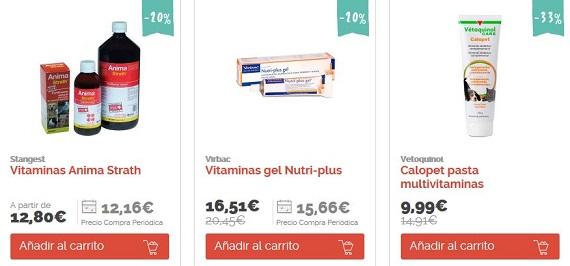 suplementos nutricionales para perros vitaminas
