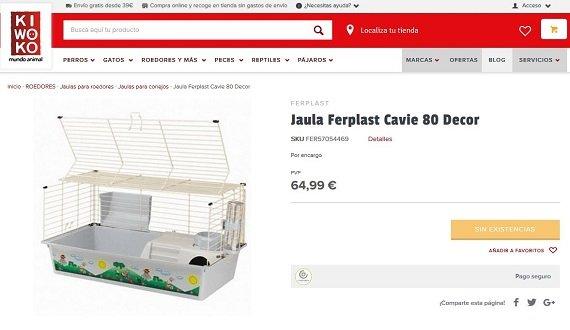 Jaulas para cobayas baratas online: opiniones y precios en Amazon