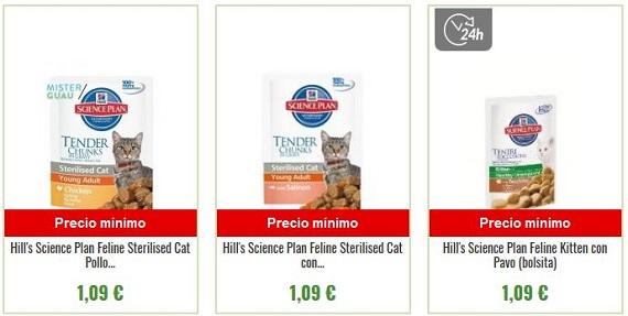 comida húmeda para gatos barata